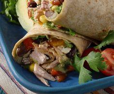 Mexicali Turkey Wraps