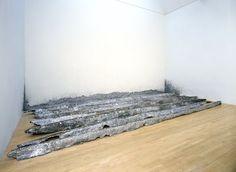 Richard Serra, Gutter Corner Splash: Night Shift, 1969