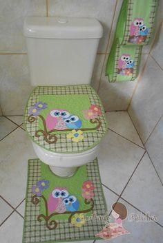 jogo banheiro mamãe coruja II | Raquel Regina Faleiro dos Santos | Flickr