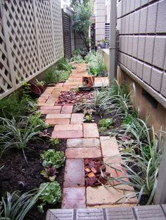 Zen Garden Design, Yard Design, Landscape Design, Paver Designs, Outdoor Life, Outdoor Decor, Brick Path, Unique Gardens, Garden Paths