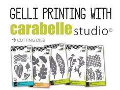 Carabelle Dies - Gelli Printing - Birgit Koopsen logo