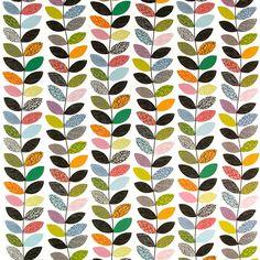 Pop Multi Orange Tyg fabrics  textile  tyger  metervara  orange  grön a8d6e3e659389