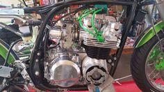 Ottonero Cafe Racer: GPz 810 uni-trak