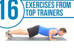 16 Exercises From the World's Best Trainers