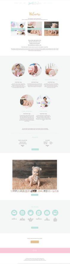 Alyssa Joy & Co. || Squarespace Web Design || Sweet Serendipity Studio, Summerville area Cakery & Portrait Photographer || www.alyssajoyco.com