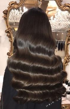My glossy dark chocolate Hollywood waves haircare details for those interested comments and other haircare tips welcomed! Hollywood Waves, Hollywood Hair, Glossy Hair, Shiny Hair, Pretty Hairstyles, Wedding Hairstyles, Hair Day, Gorgeous Hair, Prom Hair