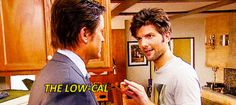 The Low-Cal Calzone Zone / Parks and Rec / #ParksandRec