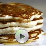 The Best Eggless Pancakes Ever & Video