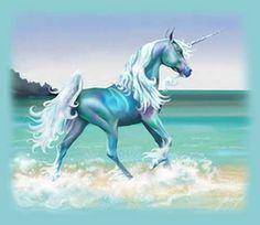 Beach Unicorn