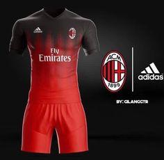 Soccer Kits, Football Kits, Football Jerseys, Sport Wear, Sport T Shirt, Sports Jersey Design, Paolo Maldini, Classic Football Shirts, Jersey Outfit