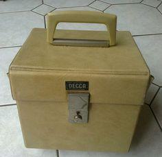 "VINTAGE - RETRO - 60's 7"" VINYL DJ RECORD STORAGE BOX - CARRY CASE NORTHERN SOUL   eBay"