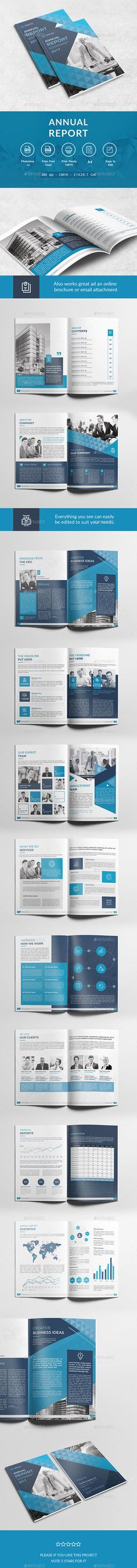 Annual Report Template PSD
