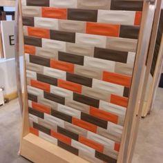 Large Subway Tile Installed Vertical Daltile Elevare El44