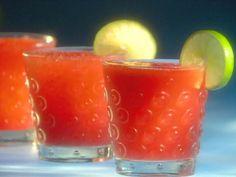 Strawberry Margarita recipe from Guy Fieri via Food Network.  Very good