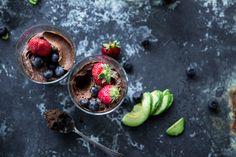 Instant Chocolate Avocado Mousse