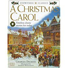 Wednesday Night Book Group - December 13 -A miser learns the true meaning of Christmas when three ghostly visitors review his past and foretell his future, with illustrated notes throughout the text explaining the historical background of the story.