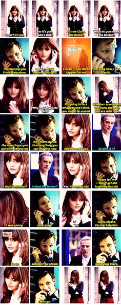 The Phone Call. Ugh, this part brought me to tears, I miss Matt so badly,