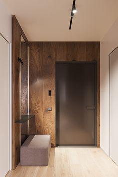 Entry Way Design, Foyer Design, Ceiling Design, House Design, Interior Cladding, Interior Walls, Home Entrance Decor, House Entrance, Scandinavian Interior Design
