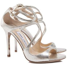 Jimmy Choo Lang Sandals (42.050 RUB) ❤ liked on Polyvore featuring shoes, sandals, gold, off white sandals, high heeled footwear, leather sandals, leather high heel sandals and jimmy choo shoes