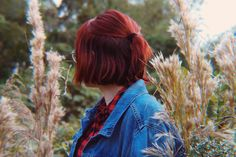 @kayleybrianna on ig Short Red Hair, Short Hair Styles, Ballerina Sketch, My Heart Is Yours, Pretty Hairstyles, Stylish Outfits, Your Hair, Mood, Constellation