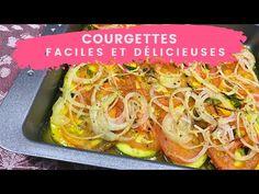 Recette de courgettes facile au four 🟢 - super rapide, santé, un délice! - YouTube Four, Cabbage, Vegetables, Zucchini, Brazilian Cuisine, Brazilian Recipes, Fish, Dish, Cabbages