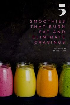 Nutrients like vitamins B & C and polyphenols are the most prone to breaking down when cooked. An easy way to get a lot of nutrients in one go is by drinking smoothies. The smoothies that we have in this article are all full of nutrients! Additionally, drinking these smoothies can help get rid of cravings and they can burn fat too. What are you waiting for? Make some of the recipes below and let us know how you like them.