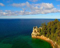 Lake Superior Michigan