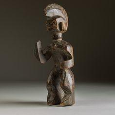 Africa, Art-Africain, Wurkun people of the Benue River region of northern Nigeria | Wood, Jukun, Mumuye, Chamba