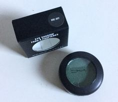 SALE $25 MAC Eyeshadow ONE OFF Forest Green Eyeshadow Makeup M.A.C Cosmetics