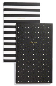 Free shipping and returns on sugar paper 'Take Note' Notebooks (Set of 2) at Nordstrom.com. Gold foil printed with the words