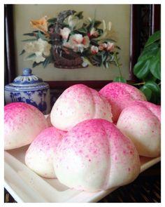 Longevity Peach Buns(寿桃)