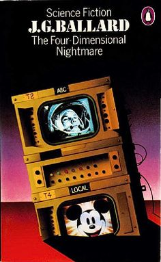 4th Dimensional Nightmare by J.G Ballard. Cover by David Pelham