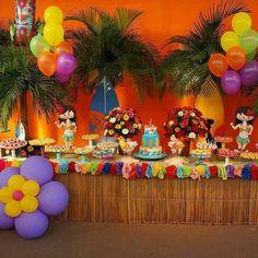 festa 1 ano havaiana