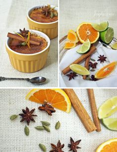 Recipe: Creme Brulee with Citrus, Cardamom and Star Anise via Renee Cundick Star Anise, Colorful Party, Creme Brulee, Salad Recipes, Sweet Treats, Spices, Meals, Cooking, Healthy