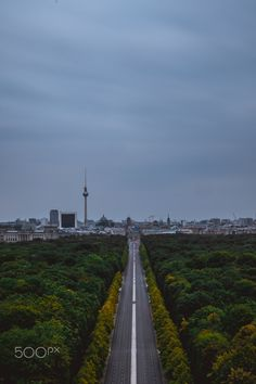 Empty streets of Berlin by emate Railroad Tracks, Empty, Berlin, Street, Roads, Train Tracks