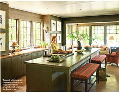 thom filicia's lake house | rustic lake houses, house beautiful