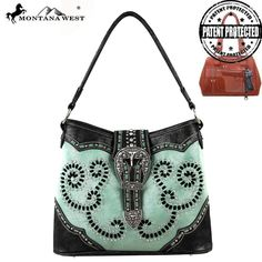Montana West Longhorn Buckle Concealed Handgun Handbag – Handbag-Addict.com