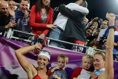 "Misty May-Treanor and Kerri Walsh Jennings close era of beach volleyball dominance with third Olympic gold medal 8/8/12 - The Washington Post - ""Walsh Jennings grabbed her two young sons, Joseph, 3, and Sundance, 2, who saw their mom and Auntie Turtle"""