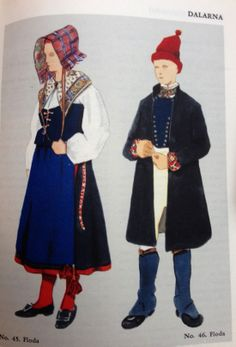 adorable swedish costumes
