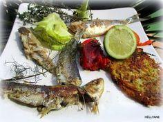 Sardines à la provençale à la Plancha