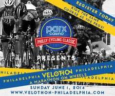Ride the Same course as the Pros. For the first time ever ride 45k on closed roads on the same course and on the same day as some of the world's greatest cyclists competing in the Parx Casino Philly Cycling Classic. Velothon Philadelphia, part of the UCI Velothon Majors, gives the rider the opportunity to climb the Manayunk Wall, challenge Lemon Hill, ride through Fairmount Park and Center City Philadelphia, fully chip timed, and great post ride hospitality at Lemon Hill to watch the pro…