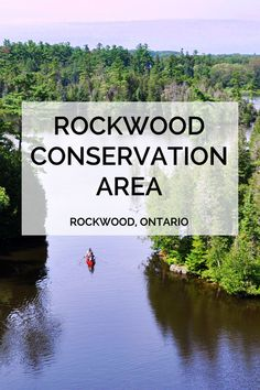 Hiking, exploring old mill ruins and caves is all part of exploring Rockwood Conservation Area near Toronto. #travel #travelideas #hiking #wanderlust #exploring #summeractivities #Canada