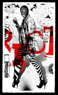 WK Interact 'Struggle 1' Print
