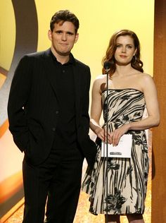 Matt Dillon Photos - Presenters Matt Dillon (L) and actress Amy Adams onstage during the 22nd Annual Film Independent Spirit Awards held at Santa Monica Beach on February 24, 2007 in Santa Monica, California. - Film Independent's 2007 Spirit Awards - Show