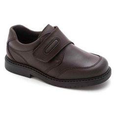 Zapato escolar colegial reforzado Pablosky niño marrón a242195dece1