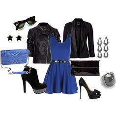 One Dress, Two Ways, created by #jennifer-dillard-morrison on #polyvore. #fashion #style