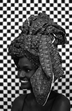 lemagazinenoir:Senegalese model Aminata Faye photographed by Sarah Diouf.