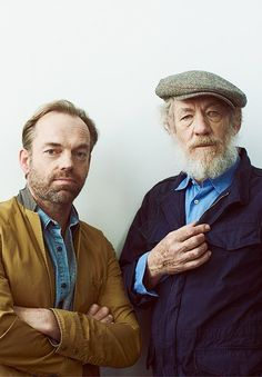 Hugo Weaving and Ian McKellen- too much awesomeness in 1 pic!