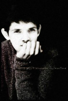 Colin. In a jumper. In black and white. My life is complete.