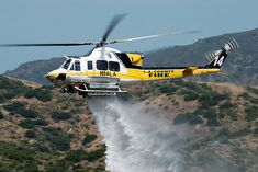 LA County Fire Helicopter #14 by Trent Bell, via Flickr